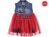 Стильное летнее платье для девочек 1,2,3 лет