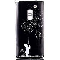 Чехол накладка для LG Magna H502F силиконовый IMD3, Ребенок и одуванчик