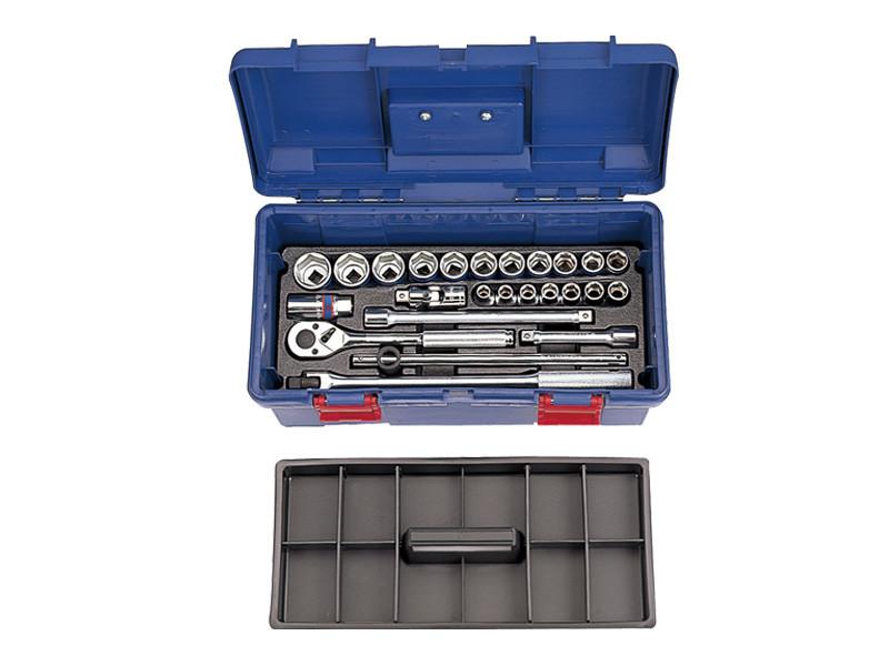 Набор инструментов  26 ед. в пластиковом ящике (уп.1)  KINGTONY 41526MR