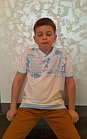 Белая подростковая футболка для мальчика Рок-музыканты