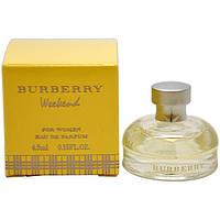 BURBERRY WEEKEND for Women mini 4.5 ml  (оригинал подлинник  Великобритания)