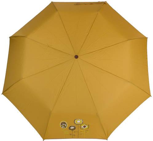 Надежный женский зонт, полуавтомат, антиветер AIRTON (АЭРТОН) Z3631-4182 желтый