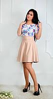 Эфектное женское платье с пышной юбкой, фото 1