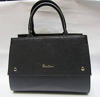 Женская сумка портфель с тиснением