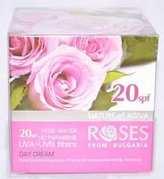 Крем дневной с натуральной розовой водой и защитным фактором Agiva 20spf 50 мл