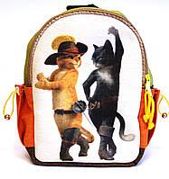 Детский рюкзак кот в сапогах