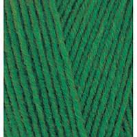 Ализе Ланаголд 800 100г/800м 118 темно-зеленый