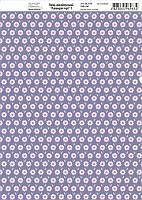 Бумага дизайнерская 21*29,7см 250г/м2 Лавандовые мечты 1 ТМ Rosa Talent