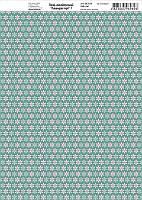 Бумага дизайнерская 21*29,7см 250г/м2 Лавандовые мечты 7 ТМ Rosa Talent