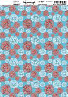 Бумага дизайнерская 21*29,7см 250г/м2 Летние краски 6 ТМ Rosa Talent