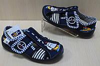 Тапочки в садик на мальчика, польская текстильная обувь тм 3F р. 20