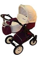 Универсальная детская коляска Anmar Fragma №1 (беж+бордо)