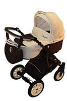 Универсальная детская коляска Anmar Fragma №4 (беж+каштан)