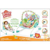 Детский шезлонг Bright Starts Джунгли 60340