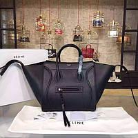 Женская сумка Celine Phantom черная Турция