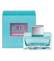 Туалетная вода Antonio Banderas Blue Seduction For Woman 100 ml.