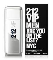 Туалетная вода Carolina Herrera 212 VIP Men 100 ml.