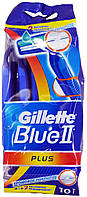 Станок для бритья одноразовый Gillette Blue2 Plus 8+2шт.