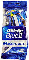 Станок для бритья одноразовый Gillette Blue2 Maximum 8шт.