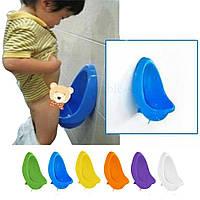 Писсуар-горшок для мальчиков Baby Potty желтый