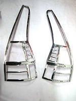 Хромированные накладки на стопы Honda CRV 2007-2010