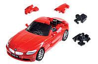 Модель конструктор-пазл BMW Z4 3D-Puzzle Car, Red