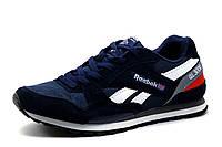 Мужские кроссовки Reebok GL3000, темно-синие с белым, фото 1