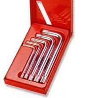 Набор угловых ключей Spline М-профиль, М5-М12, 5 предметов JONNESWAY (H15M105S)