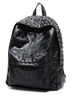 Модный рюкзак с заклепками для девушек