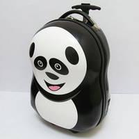 Детский дорожный чемодан на колесах панда