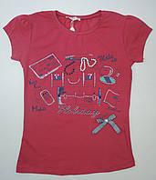 Качественная футболка для девочки 9-12 лет