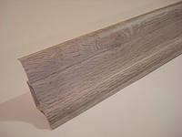 Плинтус напольный ПВХ (ТЕКО-стандарт) 0130 Каштан жирона