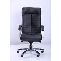 Кресло Орион HB хром Кожа Сплит черная