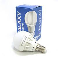 Лампа E14 LED Galaxy Standard 3W 6000K.Лампа светодиодная. Лампочка для дома. Цоколь: Е14 Холодный белый свет AC 220-240 V - RC-controller Мощн. 3Вт