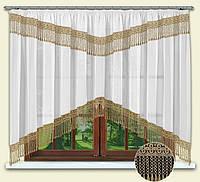 Арка Гипюр, кухонные шторы