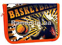 """Пенал без наполнения """"Basketball""""  1 отд. и 2 отвор. + расписание JO-16023"""