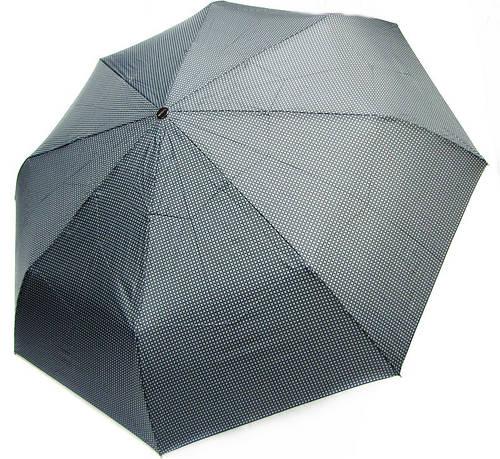 Качественный мужской зонт автомат, антиветенр DOPPLER (ДОППЛЕР) 746967FGB-1 черный