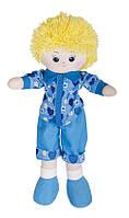 Кукла-мальчик в голубой рубашке 35 см 30-11BAC3501