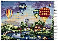 """""""Воздушные шары"""".  Схема для вышивки бисером"""