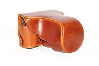 Защитный футляр - чехол для фотоаппаратов FUJI XE2, XE1 - коричневый