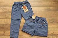 Катоновые брюки для мальчиков 1- 4 лет