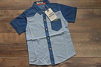 Рубашка для мальчиков 4- 12 лет