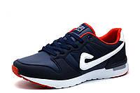 Мужские кроссовки BaaS Adrenaline GTS, PU-кожа, темно-синие, фото 1