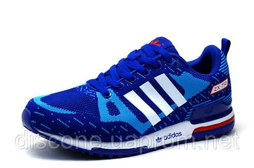 Кроссовки унисекс Adidas ZX750, текстиль, синие, р. 38 39