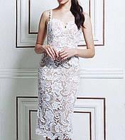 Кружевное бандажное платье Herve Leger