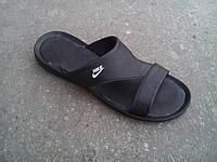 Nike вьетнамки, шлепанцы кожаные мужские Nike 40 -45