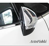 Хромированные накладки на зеркала Kia Cerato