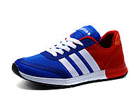 Кроссовки Adidas унисекс, сине-красные, р. 37 38 41, фото 1