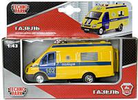 Автомодель Технопарк Газель Полиция (CT-1276-17P)