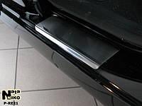 Накладки на пороги Premium Renault Scenic II/Grand Scenic II 2003-2009